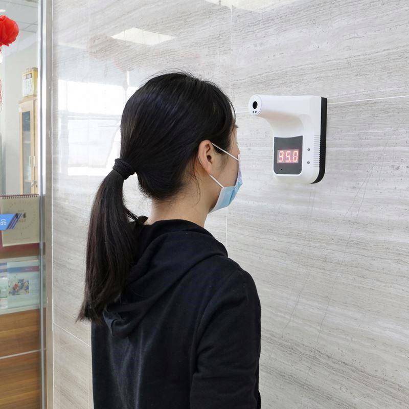 เครื่องวัดอุณภูมิ ติดผนัง หรือ ยึดกับขาตั้ง temperature scanner