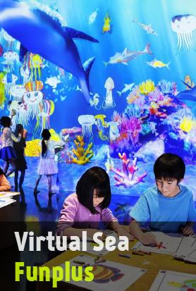 """ระบายสีสัตว์น้ำลงกระดาษและเปลี่ยนให้มีชีวิตในโลกท้องทะเลดิจิตอล """"จินตนาการสู่โลกดิจิตอล"""""""