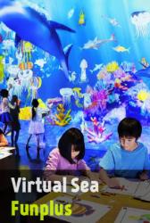 ระบายสีสัตว์น้ำลงกระดาษและเปลี่ยนให้มีชีวิตในโลกท้องทะเลดิจิตอล