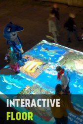 อินเตอร์แอคทีฟ ภาพเคลื่อนไหว บนพื้น ตามการเดิน กิมมิค อีเว้นท์ เช่า จำหน่าย interactive floor wall
